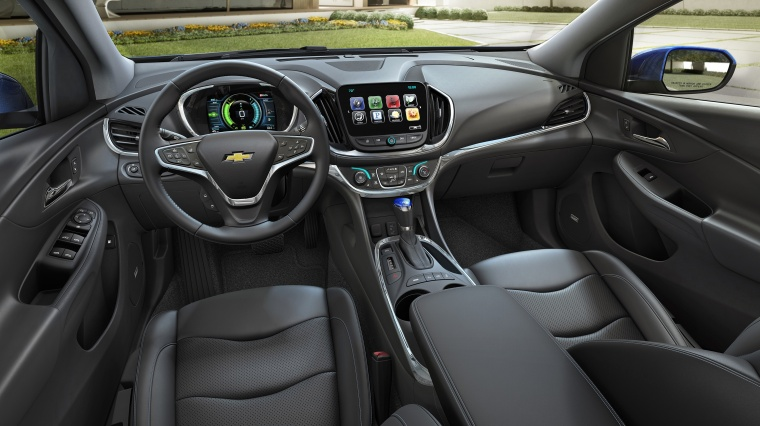 2017 Chevrolet Volt Cockpit