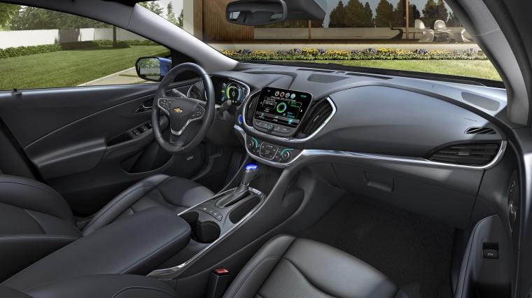 2017 Chevrolet Volt Front Seats Picture