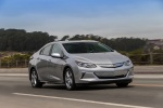2017 Chevrolet Volt in Silver Ice Metallic - Driving Front Right Three-quarter View