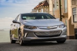 2017 Chevrolet Volt in Silver Ice Metallic - Driving Front Right View