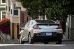 2017 Chevrolet Volt in Silver Ice Metallic - Driving Rear View