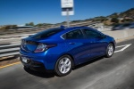 2018 Chevrolet Volt in Kinetic Blue Metallic - Driving Rear Right Three-quarter View