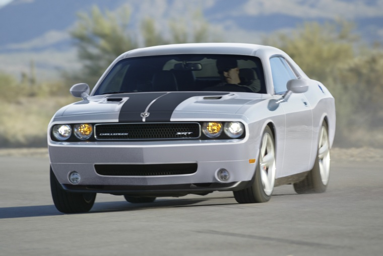 2010 Dodge Challenger Srt8 In Bright Silver Metallic Clearcoat Color