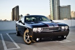 2012 Dodge Challenger SXT in Black Clearcoat - Static Front Right Three-quarter View