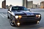 2012 Dodge Challenger SXT in Black Clearcoat - Static Front Right View