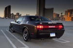 2012 Dodge Challenger SXT in Black Clearcoat - Static Rear Left View