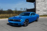2015 Dodge Challenger SXT in B5 Blue Pearl Coat - Static Front Left Three-quarter View