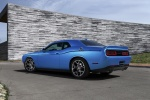 2016 Dodge Challenger SXT in B5 Blue Pearl Coat - Static Rear Left Three-quarter View