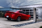 2013 Dodge Dart Sedan in Redline 2 Coat Pearl - Static Rear Right View