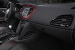 Picture of 2013 Dodge Dart Sedan Dashboard in Black / Ruby Red