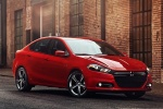 2013 Dodge Dart Sedan in Redline 2 Coat Pearl - Static Front Right Three-quarter View