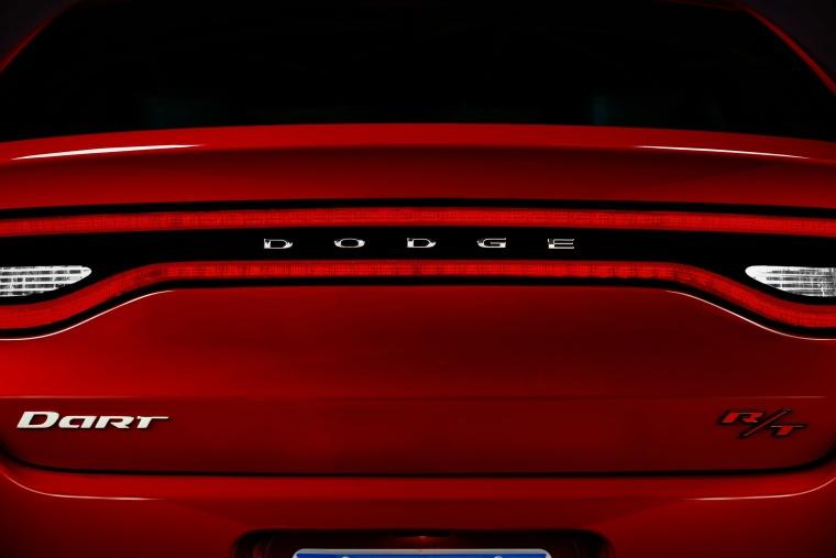 2014 Dodge Dart Sedan Tail Lights Picture