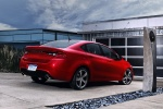2015 Dodge Dart Sedan in Redline 2 Coat Pearl - Static Rear Right View