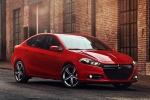 2016 Dodge Dart Sedan in Redline 2 Coat Pearl - Static Front Right Three-quarter View
