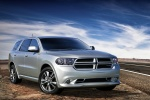 2011 Dodge Durango R/T in Bright Silver Metallic Clearcoat - Static Front Right Three-quarter View