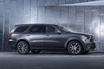 Picture of a 2014 Dodge Durango R/T in Maximum Steel Metallic Clearcoat from a right side perspective