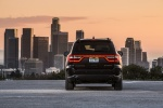 Picture of a 2016 Dodge Durango Citadel in Brilliant Black Crystal Pearlcoat from a rear perspective