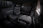Picture of a 2016 Dodge Durango's Rear Captain's Chairs Folded
