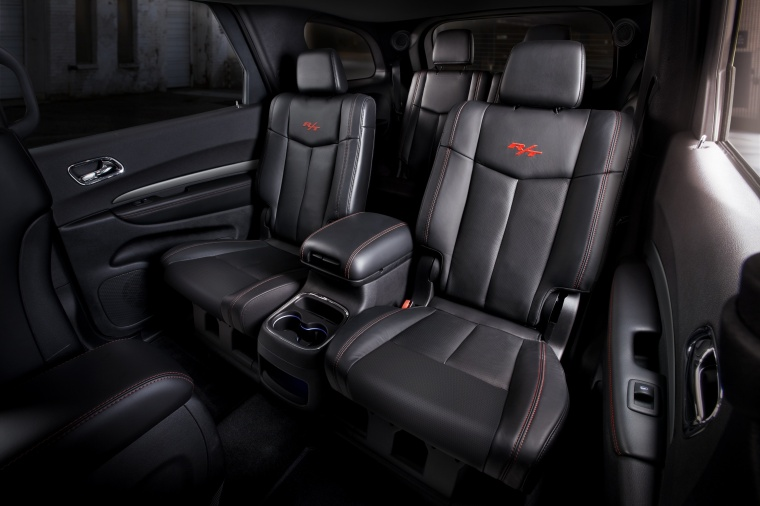 2017 Dodge Durango Rear Captain's Chairs Picture