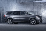 Picture of a 2017 Dodge Durango R/T in Maximum Steel Metallic Clearcoat from a right side perspective