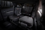 Picture of a 2017 Dodge Durango's Rear Captain's Chairs Folded