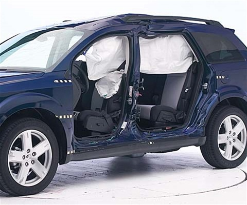 2018 Dodge Journey IIHS Side Impact Crash Test Picture