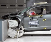 2018 Dodge Journey IIHS Frontal Impact Crash Test Picture