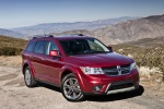 2018 Dodge Journey in Redline 2 Coat Pearl - Static Front Right Three-quarter View