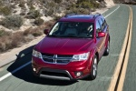 2018 Dodge Journey in Redline 2 Coat Pearl - Driving Front Left View