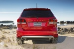 2018 Dodge Journey Crossroad AWD in Redline 2 Coat Pearl - Static Rear View