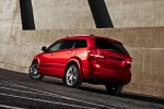 2018 Dodge Journey in Redline 2 Coat Pearl - Static Rear Left Three-quarter View