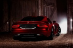 2014 Dodge SRT Viper GTS in Adrenaline Red - Static Rear Right View