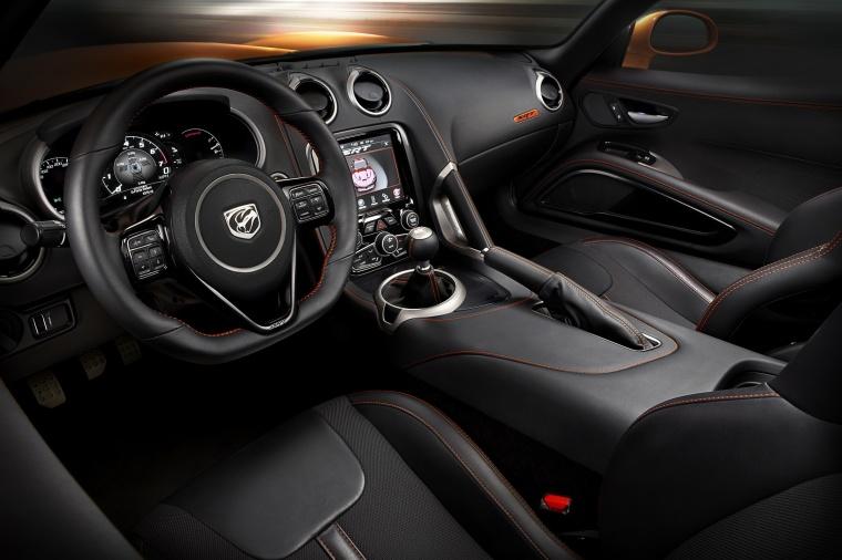 2017 Dodge Viper SRT Time Attack Cockpit Picture