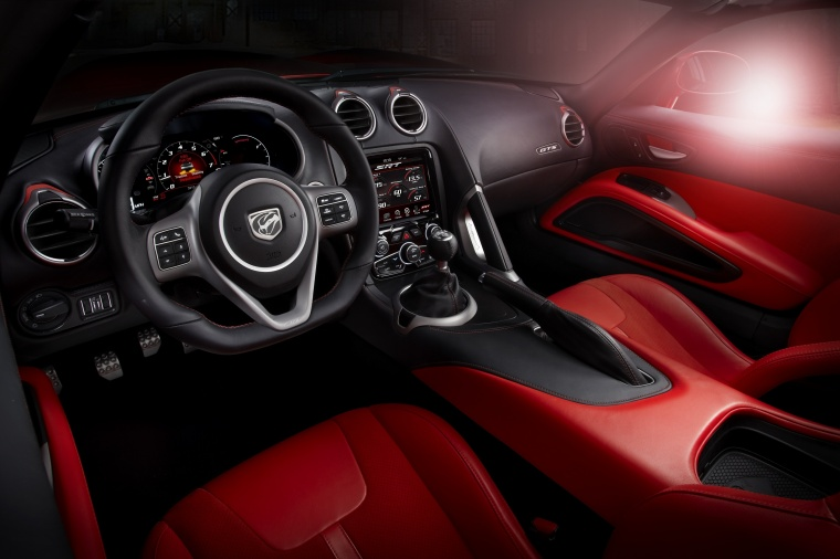 2017 Dodge Viper GTS Cockpit Picture