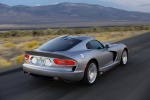 2017 Dodge Viper SRT in Billet Silver Metallic Clearcoat - Driving Rear Right Three-quarter View