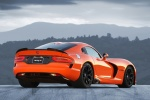 2017 Dodge Viper SRT Time Attack in Yorange Clear Coat - Static Rear Right Three-quarter View