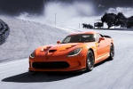 2017 Dodge Viper SRT Time Attack in Yorange Clear Coat - Driving Front Left View