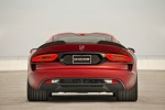 2017 Dodge Viper GTC in Adrenaline Red - Static Rear View