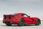 2017 Dodge Viper GTC in Adrenaline Red - Static Rear Right Three-quarter View