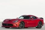2017 Dodge Viper GTC in Adrenaline Red - Static Front Left Three-quarter View