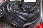 2017 Dodge Viper GTC Front Seats in Black