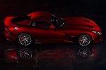 2017 Dodge Viper GTS in Adrenaline Red - Static Side View