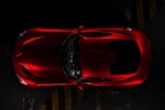 2017 Dodge Viper GTS in Adrenaline Red - Static Side Top View