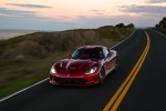 2017 Dodge Viper GTS in Adrenaline Red - Driving Front Left Top View