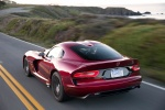 2017 Dodge Viper GTS in Adrenaline Red - Driving Rear Left View