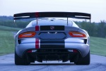2017 Dodge Viper ACR in Billet Silver Metallic Clearcoar - Static Rear View