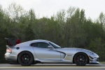 2017 Dodge Viper ACR in Billet Silver Metallic Clearcoar - Static Side View