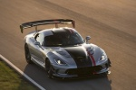 2017 Dodge Viper ACR in Billet Silver Metallic Clearcoar - Driving Front Right Top View