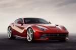 2013 Ferrari F12berlinetta in Rosso Scuderia - Static Front Right Three-quarter View