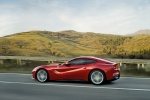 2013 Ferrari F12berlinetta in Rosso Scuderia - Driving Side View